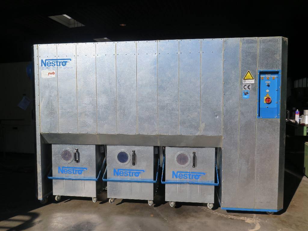 Gemeinsame Nestro Absaugung - gebraucht NE 250 - PROMAS #JB_09
